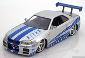 FAST AND FURIOUS 1:24 - BRIAN O'CONNER'S NISSAN SKYLINE GT-R