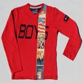BOYS iN Control Jongen T-shirt - rood - Maat 104