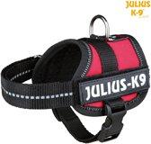 Julius K9 IDC Powertuig/Harnas - baby 1/30-40cm - XXXS - Rood