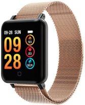 QY19 - Smartwatch - Goud/Zwart