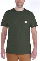 Carhartt Force Cotton Moss T-Shirt Heren