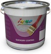 Quickdry vloercoating - Vloerverf / coating  voor continu en zwaar belaste vloer (bakkerij, magazijn, belijning) - antraciet - 5 Kilo