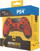Steelplay MetalTech Wireless Controller - Ruby Red