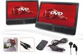 Caliber MPD2010T - Portable DVD -2x 10 Inch met 2x DVD speler - Zwart