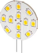 G4 LED lamp / inbouwspot rond - 2W koud wit