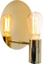 Wandlamp Gloria Messing