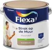 Flexa Strak op de muur Muurverf - Mat - 2,5 liter - Suede