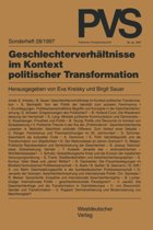 Geschlechterverh ltnisse Im Kontext Politischer Transformation
