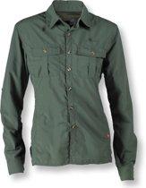 Wolf Camper Lagoon dames shirt olijfgroen