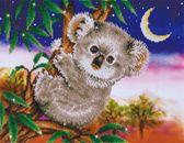 Diamond Dotz Koala Snack 48x37 cm - Diamond Painting