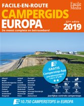 Facile-en-Route Campergids 2019, 10.750 camperplaatsen in Europa