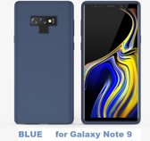 Clear View Mirror Stand Cover voor Galaxy Note 9  _ Blauw