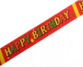 Markeerlint Happy Birthday 6 meter