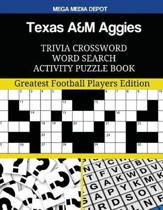 Texas A&m Aggies Trivia Crossword Word Search Activity Puzzle Book