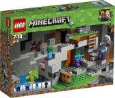 LEGO Minecraft De Zombiegrot - 21141