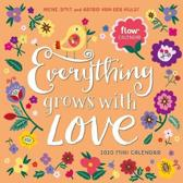Everything Grows with Love Mini Wall Calendar 2020