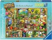 Ravensburger puzzel Colin Thompson The Gardener's Cupboard - Legpuzzel - 1000 stukjes