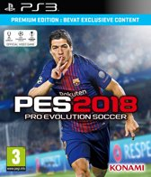 Pro Evolution Soccer 2018 - Premium Edition - PS3