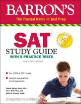 SAT STUDY GD W/ 5 PRACTICE TESTS