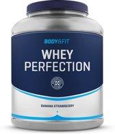 Body & Fit Whey Perfection Eiwitpoeder / Eiwitshake - 2270 gram - Banana Strawberry milkshake