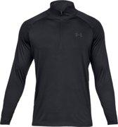 Under Armour Tech 2.0 1/2 Zip Heren Sport Shirt - Charcoal - Maat M