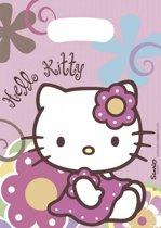 Hello Kitty Uitdeelzakjes Versiering 23x16,5cm 6 stuks