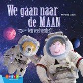 Leesserie Estafette - We gaan naar de maan (en veel verder)
