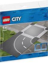 LEGO City Bocht en Kruising - 60237