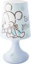 Disney Mickey/Donald nachtlampje 19 cm kleurwisselende LED lamp