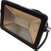LED buitenlamp zwart | 30W=350W LED schijnwerper | warmwit 3000K | waterdicht IP65
