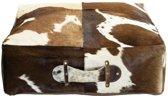honden box kussen koe bruin 50x50x15cm