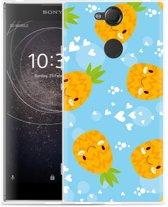 Sony Xperia XA2 Hoesje Love Ananas