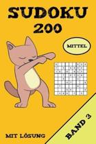 Sudoku 200 Mittel Mit L sung Band 3