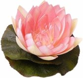 Fun & Feest Bloemen Roze waterlelie