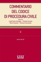 Commentario del Codice di procedura civile. II - artt. 99-162
