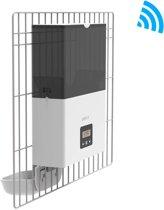 PetWant Cage slimme voerautomaat geschikt voor een kooi of bench | Instelbaar Voedingsschema