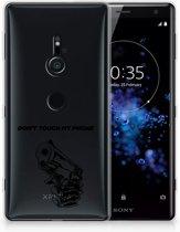 Sony Xperia XZ2 Uniek TPU Hoesje Gun DTMP