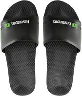 Brasil Slide Slippers - Unisex zwart/wit/groen