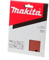 Makita Schuurvel K120 114x102 Red