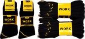 Work werk sokken 10 paar zwart (10 paar) 43/46