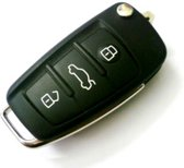 Autosleutelbehuizing - sleutelbehuizing auto - sleutelhoes - Autosleutel - Peugeot, Citroën en Toyota
