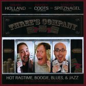 Three's Company: Hot Ragtime, Boogie, Blues, & Jazz