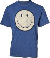 Smiley - Faux Denim Men s T-shirt - S