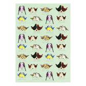 Alex Clark vogels theedoek thema dierencadeaus vogel kado keukentextiel