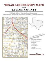 Texas Land Survey Maps for Taylor County