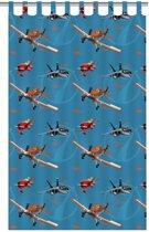 Disney Planes - Gordijn - Blauw - 140x250 cm