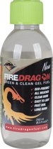 Fire Dragon Brandstof gel - Green & Clean - 250 ml