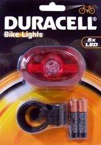 Duracell Achterlicht voor Fiets - Zwart
