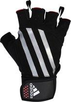 Gewichthef handschoenen Adidas zilver S