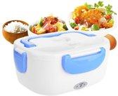 Elektrische Lunch Trommel - Voedsel Box Houder Verwarm Functie - 2 Compartimenten - BPA Vrij